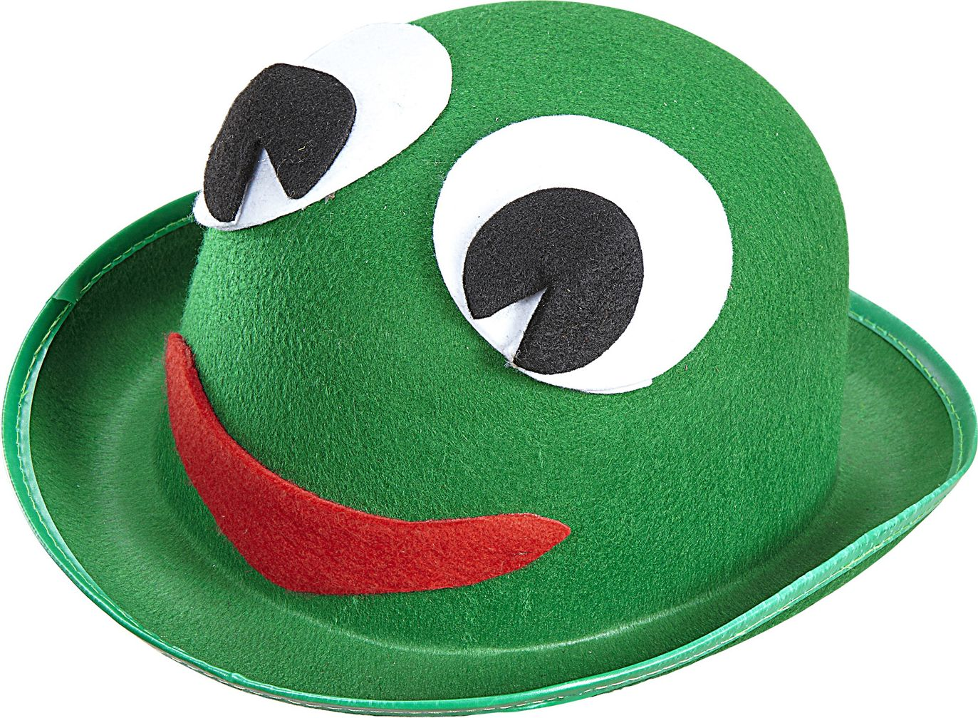Groene kikker bolhoed