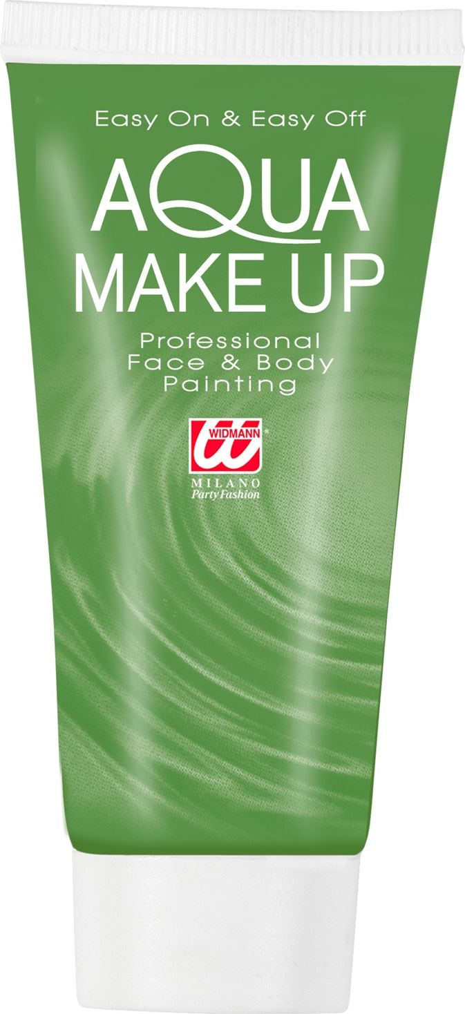 Groene make-up tube waterbasis