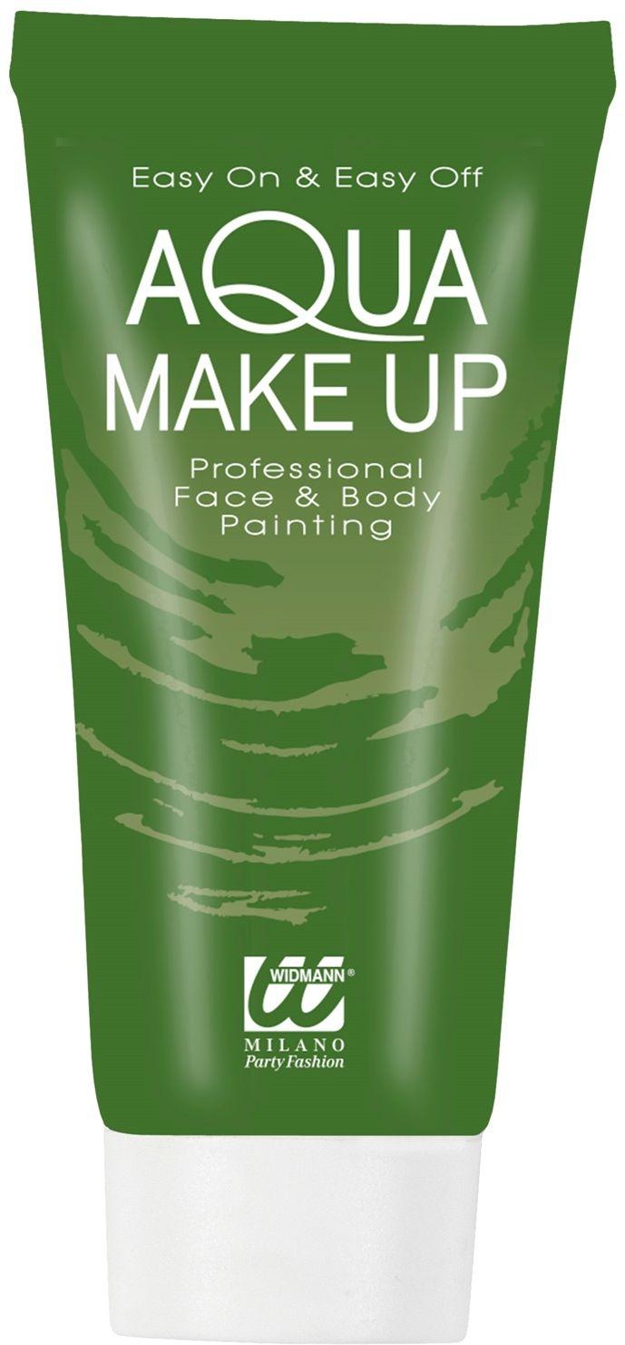 Groene make-up tube waterbasis