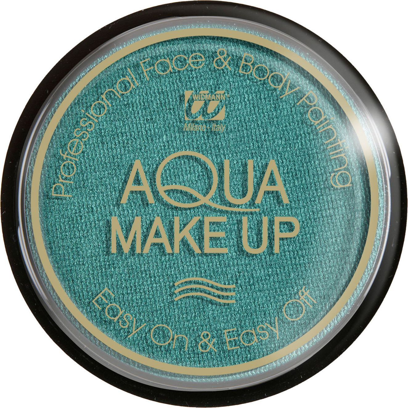 Groene make-up waterbasis metallic