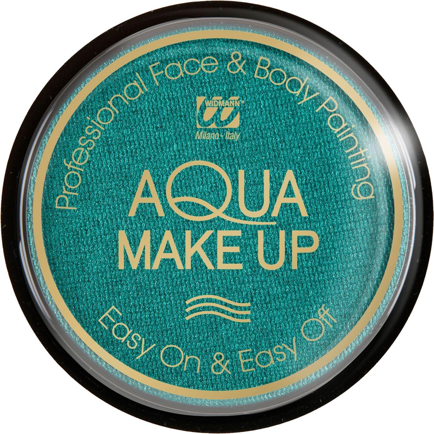 Groene make-up waterbasis metallic