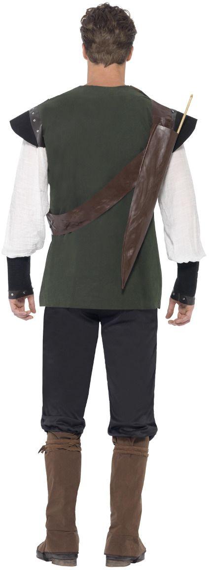 Groene mannen Robin hoofd pak