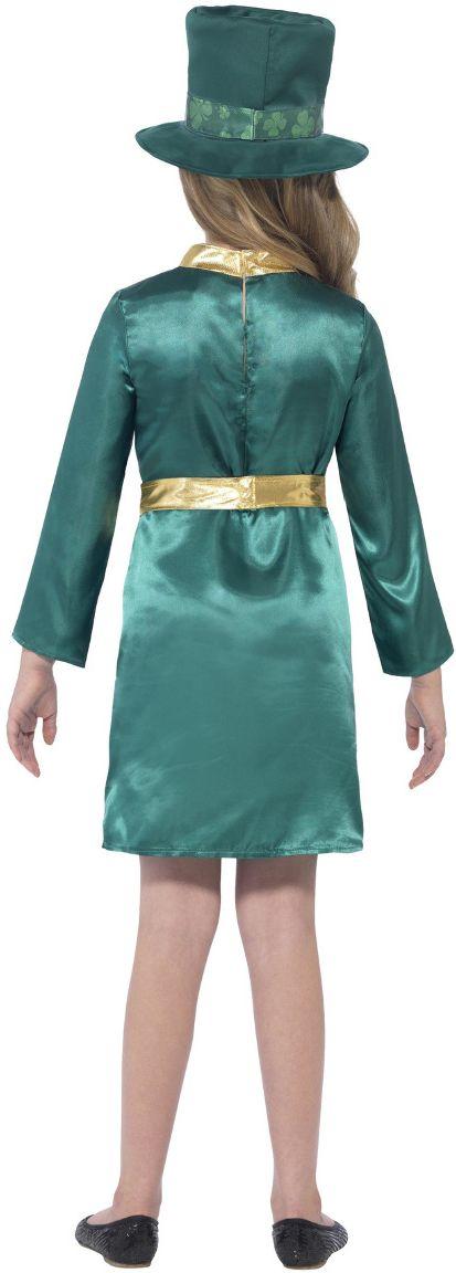 Groene meisjes leprechaun jurkje
