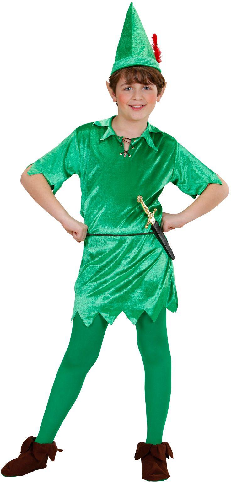 Groene Peter Pan kind
