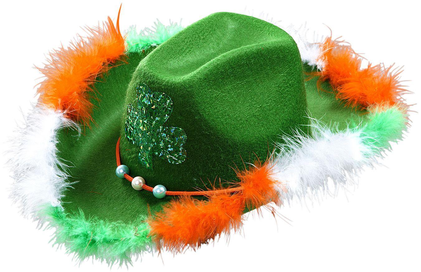 Groene St. Patricksday hoed