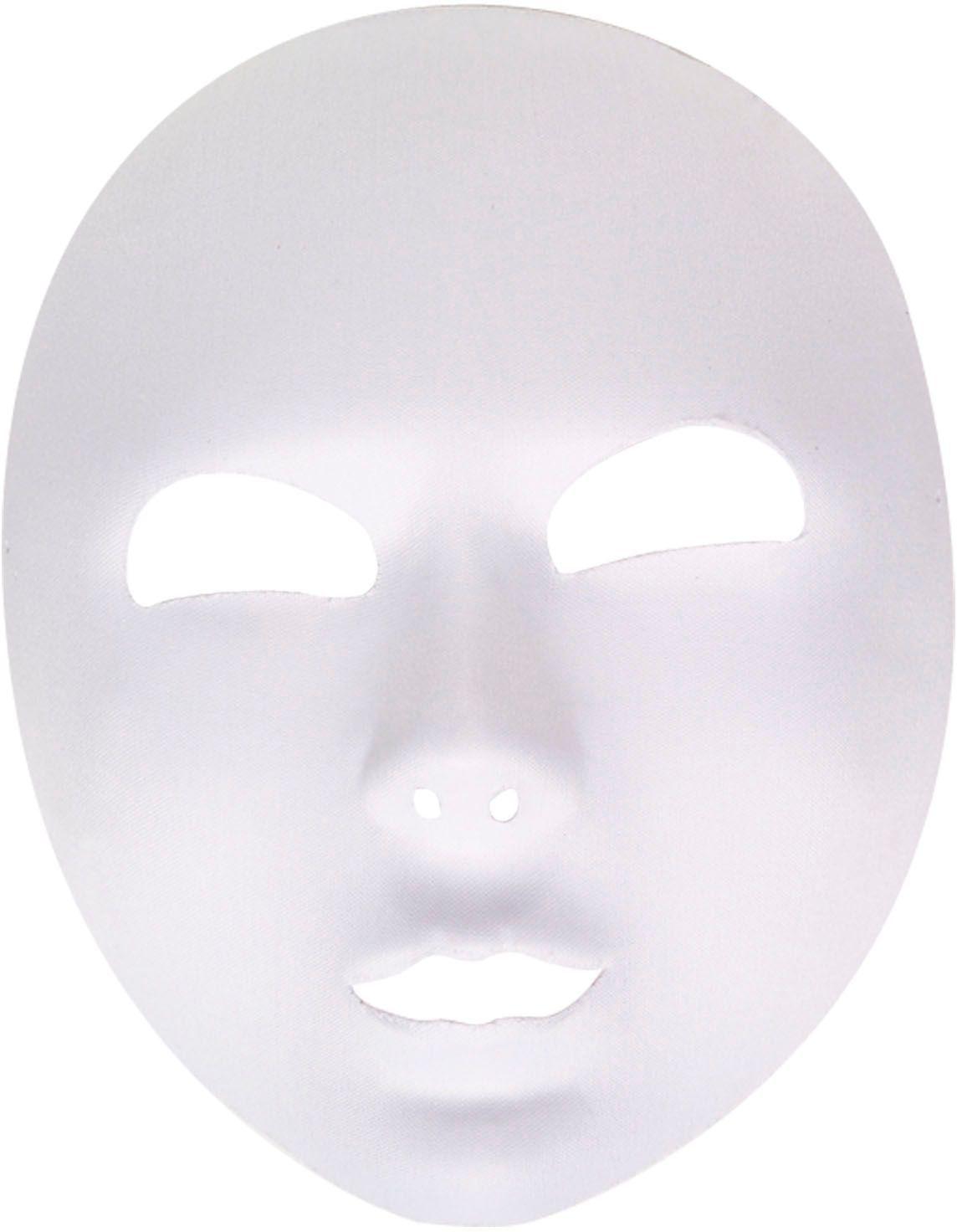 Groot wit masker