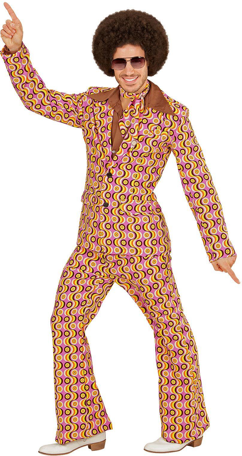 Groovy 70s kostuum heren