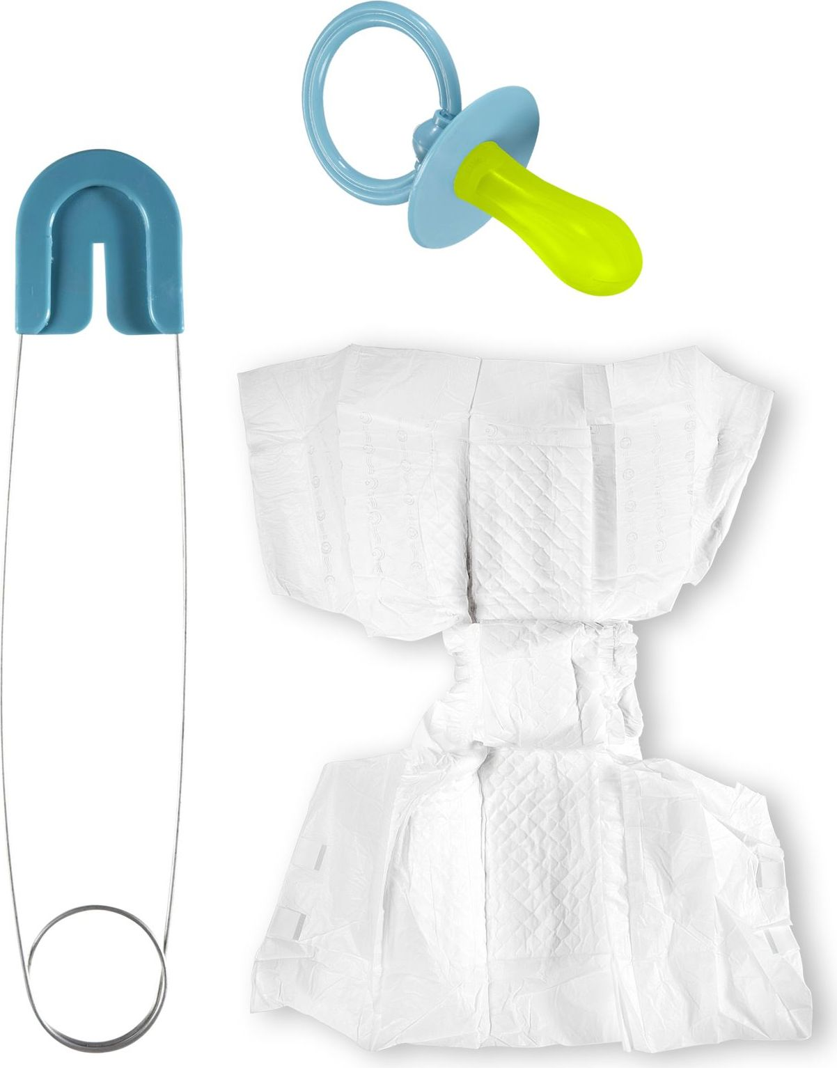 Grote baby accessoires set man