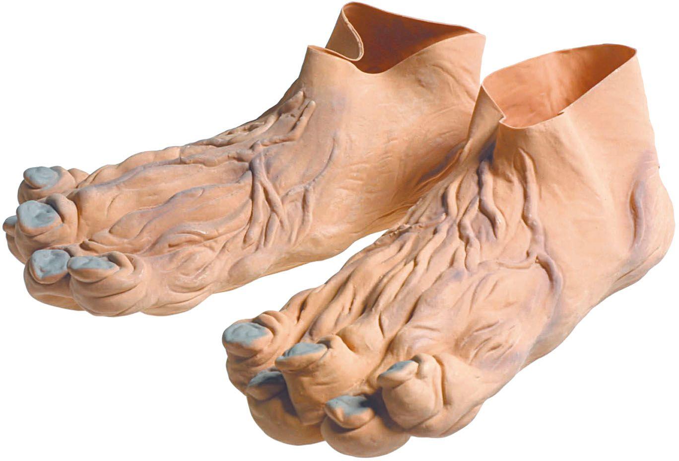 Grote vieze voeten