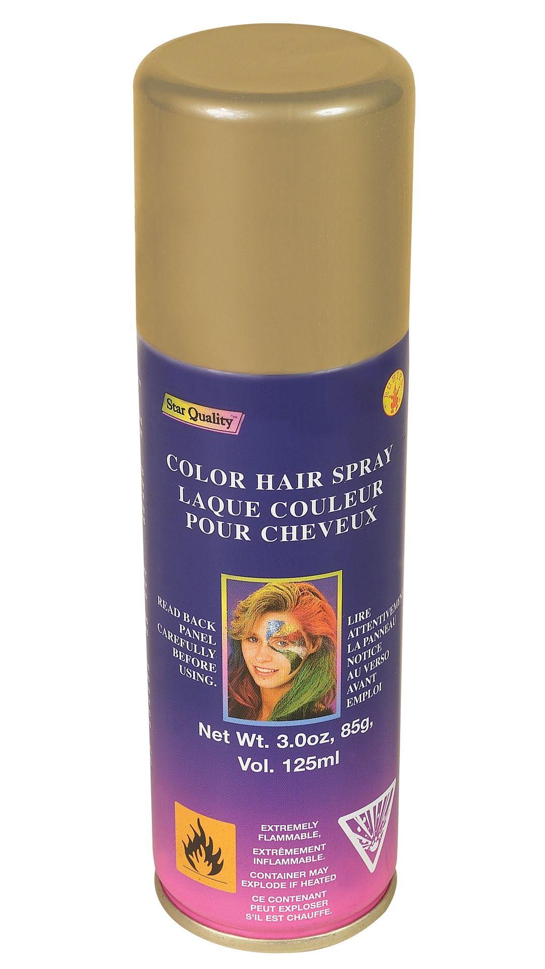 Haarspray goud