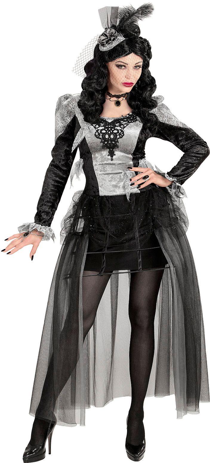 Halloween gravin kostuum