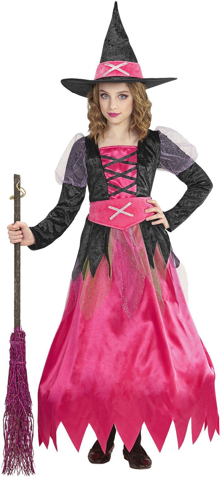 Halloween heksen jurkje kind