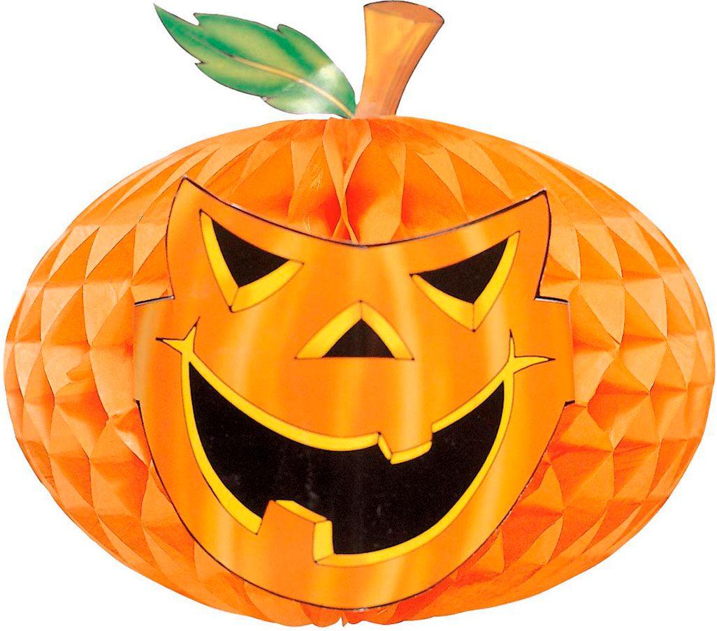 Halloween honinggraat pompoen