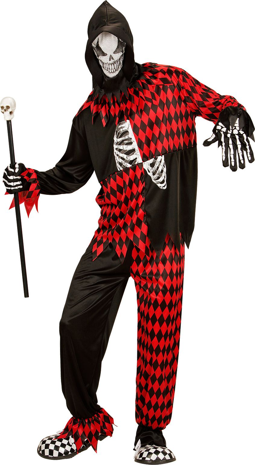 Halloween nar kostuum