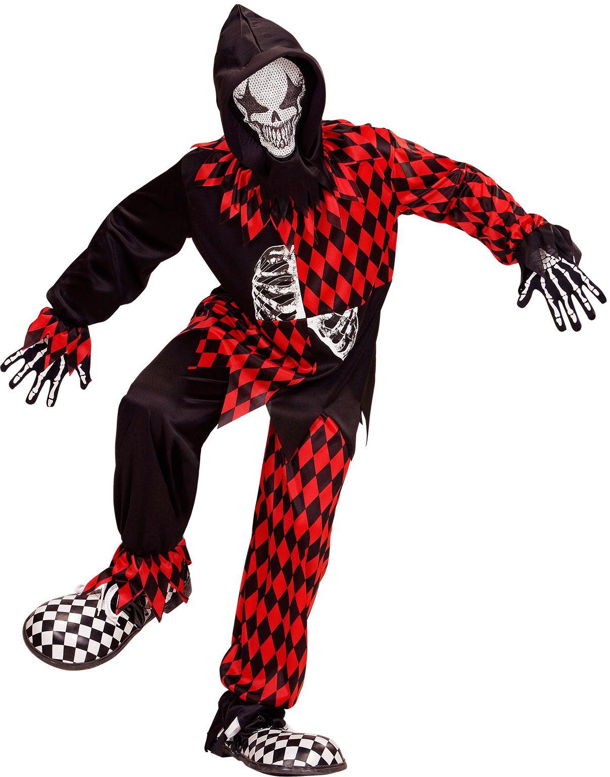 Halloween nar kostuum kind