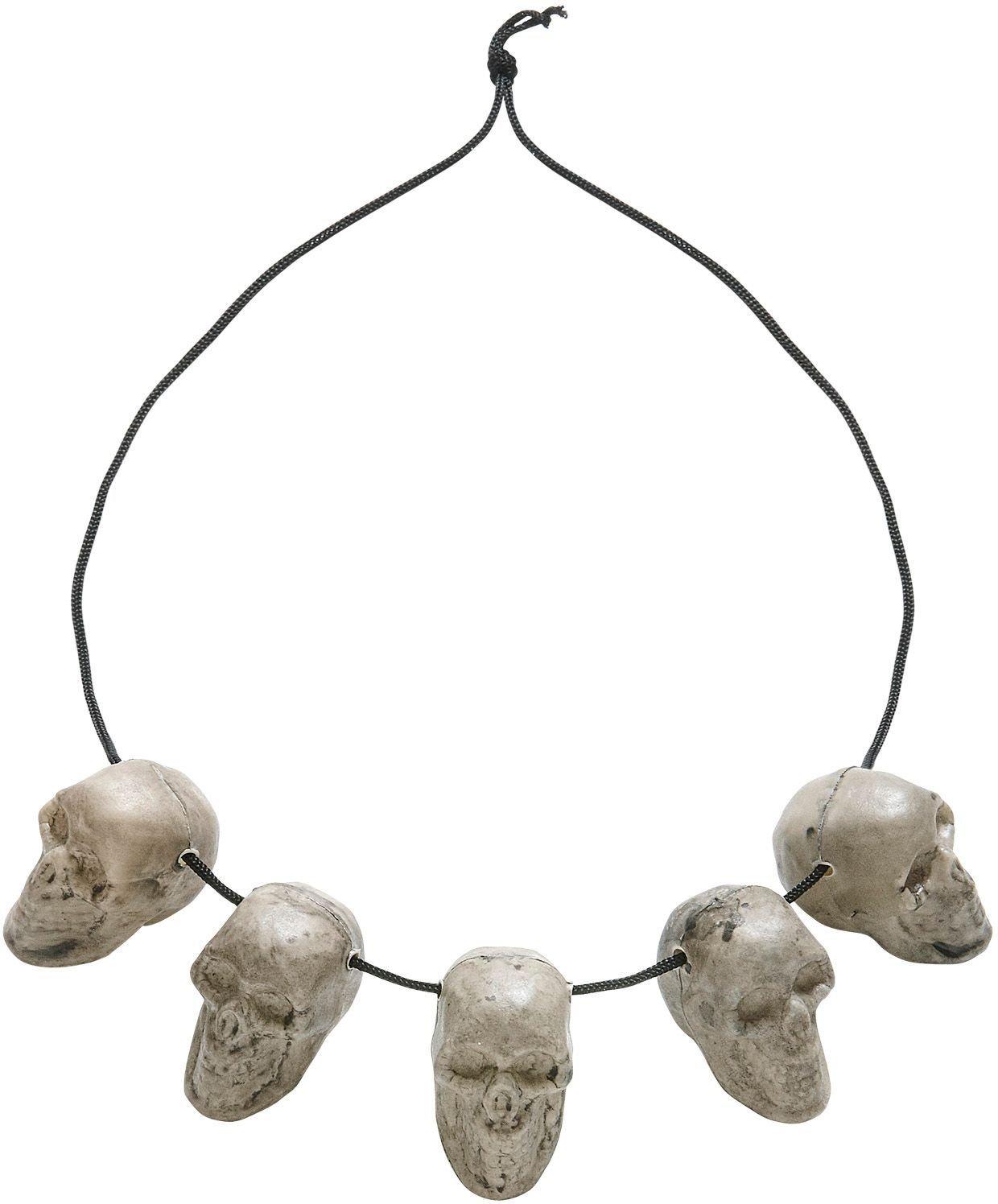 Halloween schedels ketting