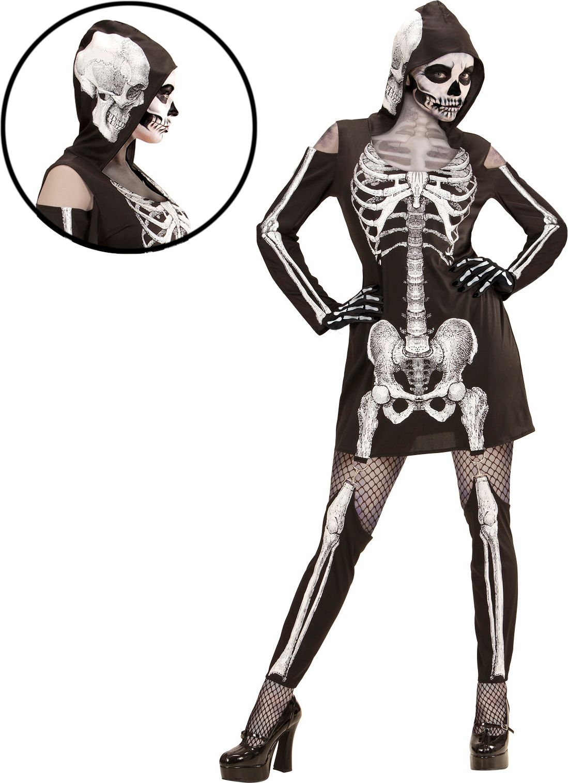 Halloween skelet pak