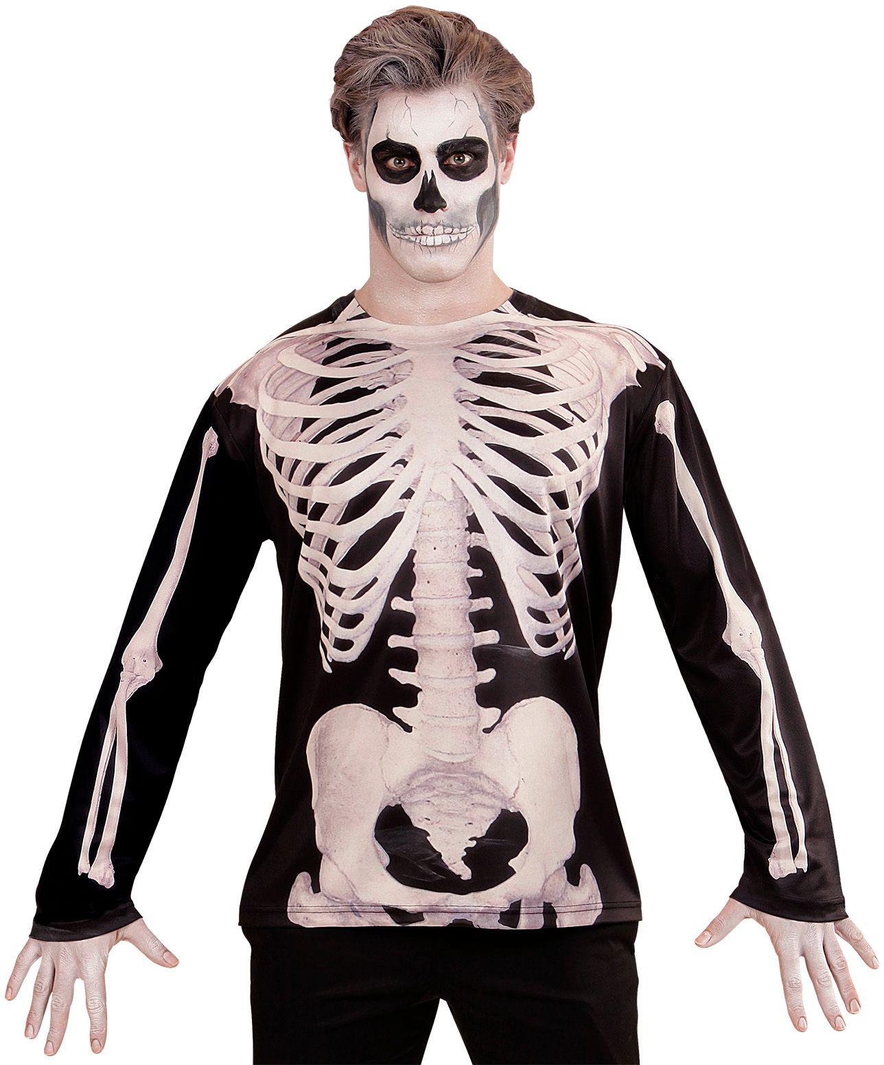 Halloween skelet shirt