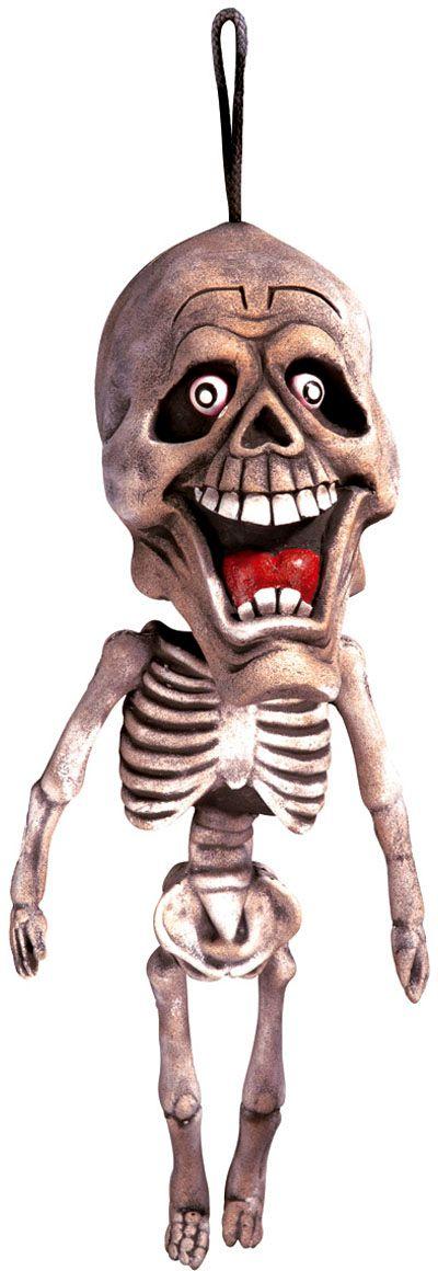 Hangende grappige skelet