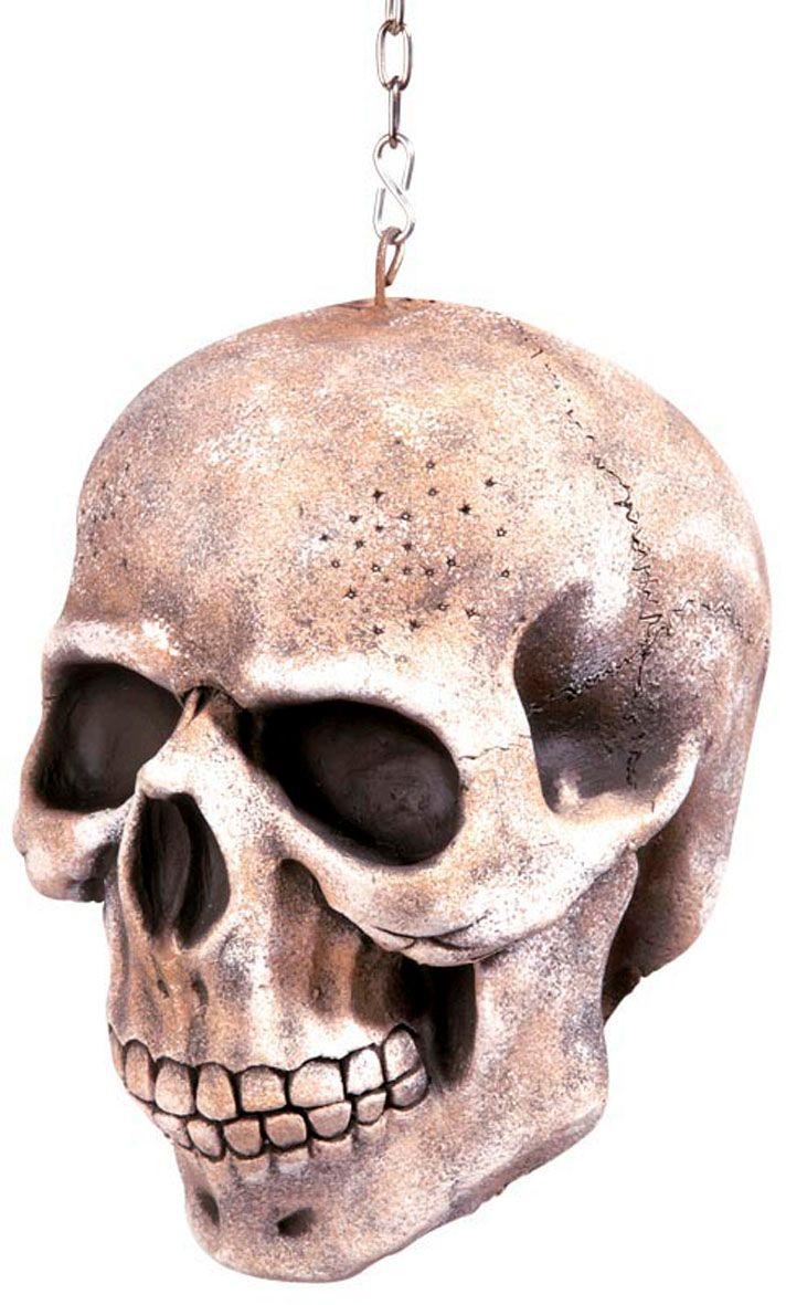 Hangende schedel decoratie