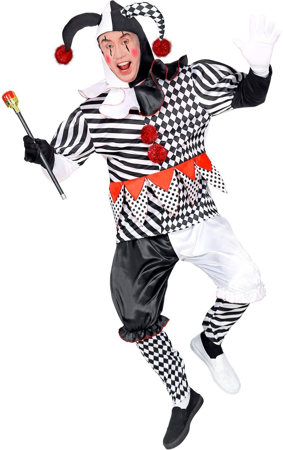 Harlekijn carnaval heren