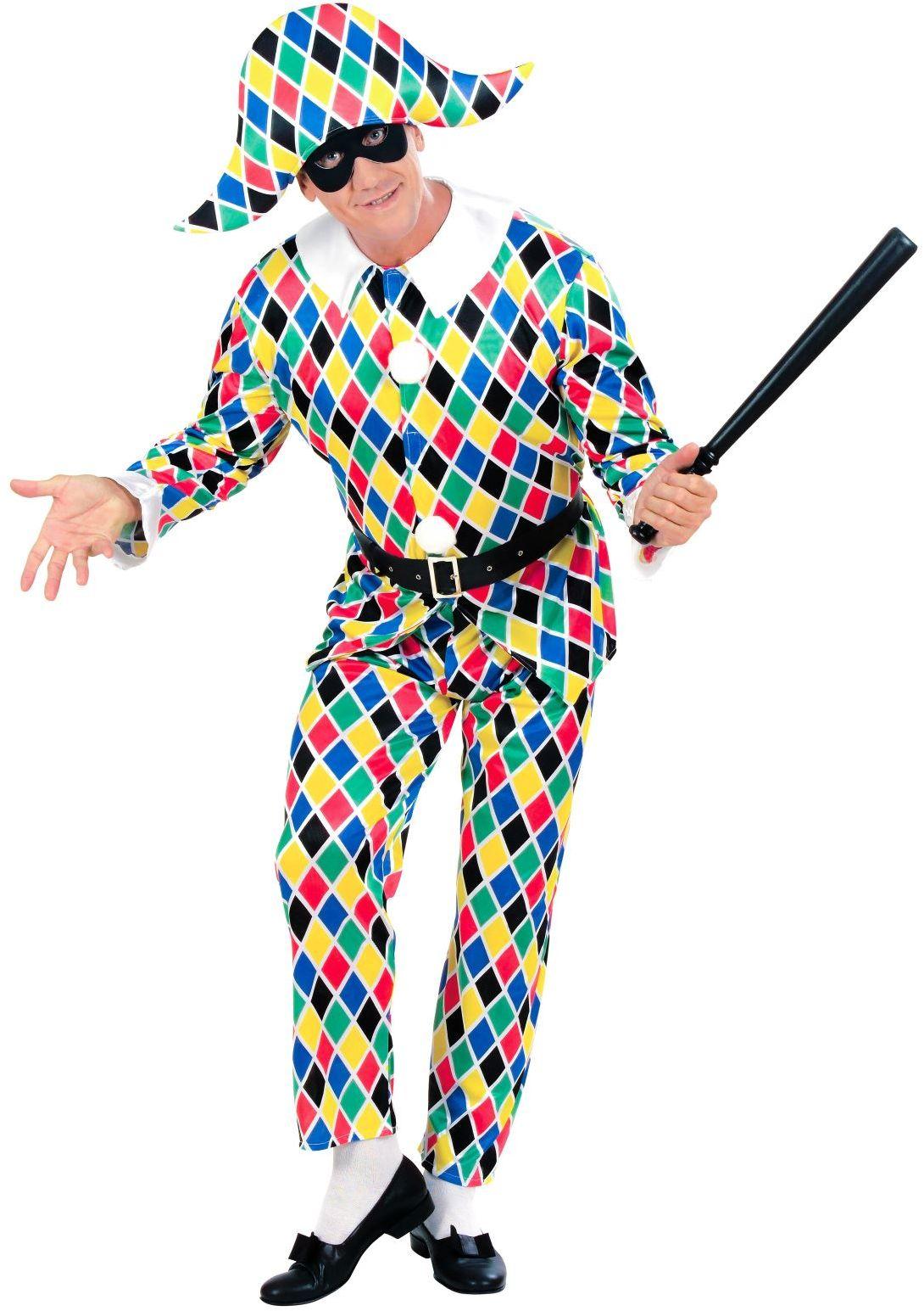 Harlekijn Kostuum man