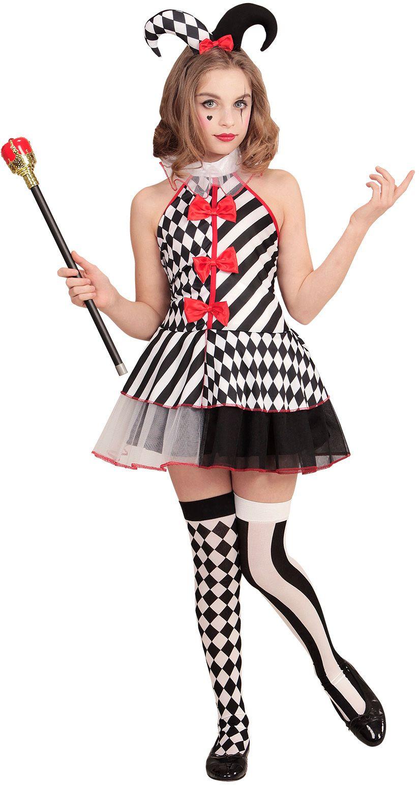 Harlekijn kostuum meisjes