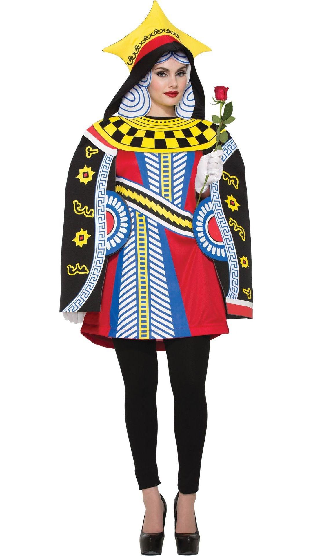 Hartenkoningin kostuum