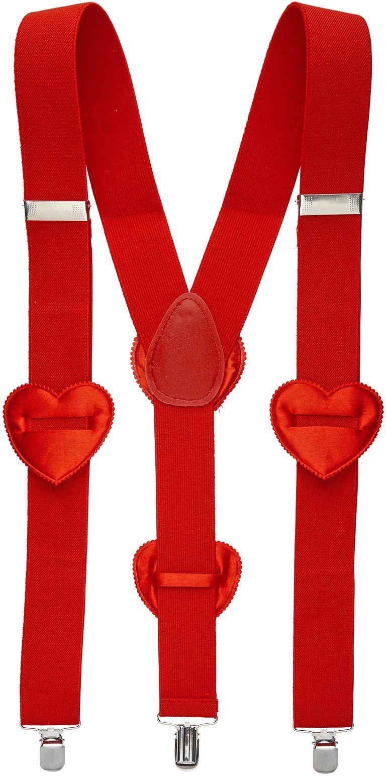Hartjes bretels cupido