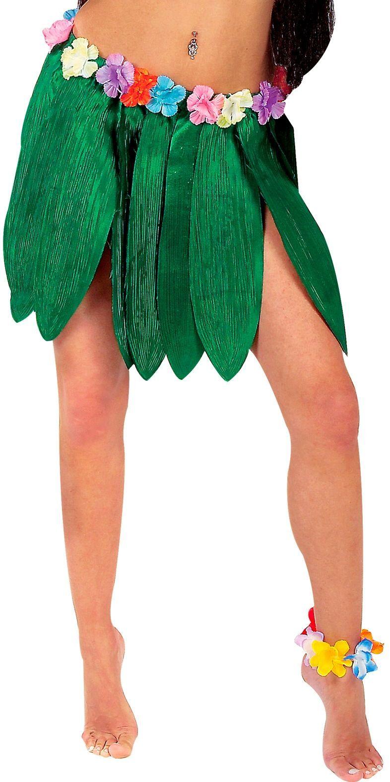 Hawaii bananen blad rokje