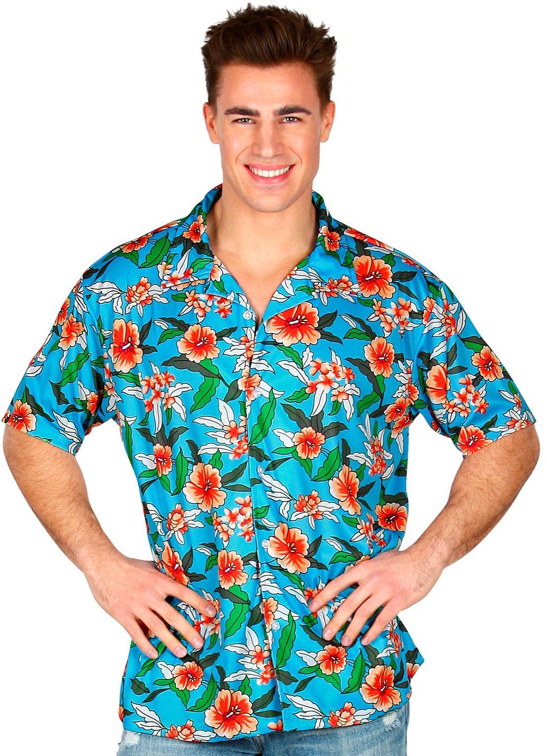 Hawaii blouse heren