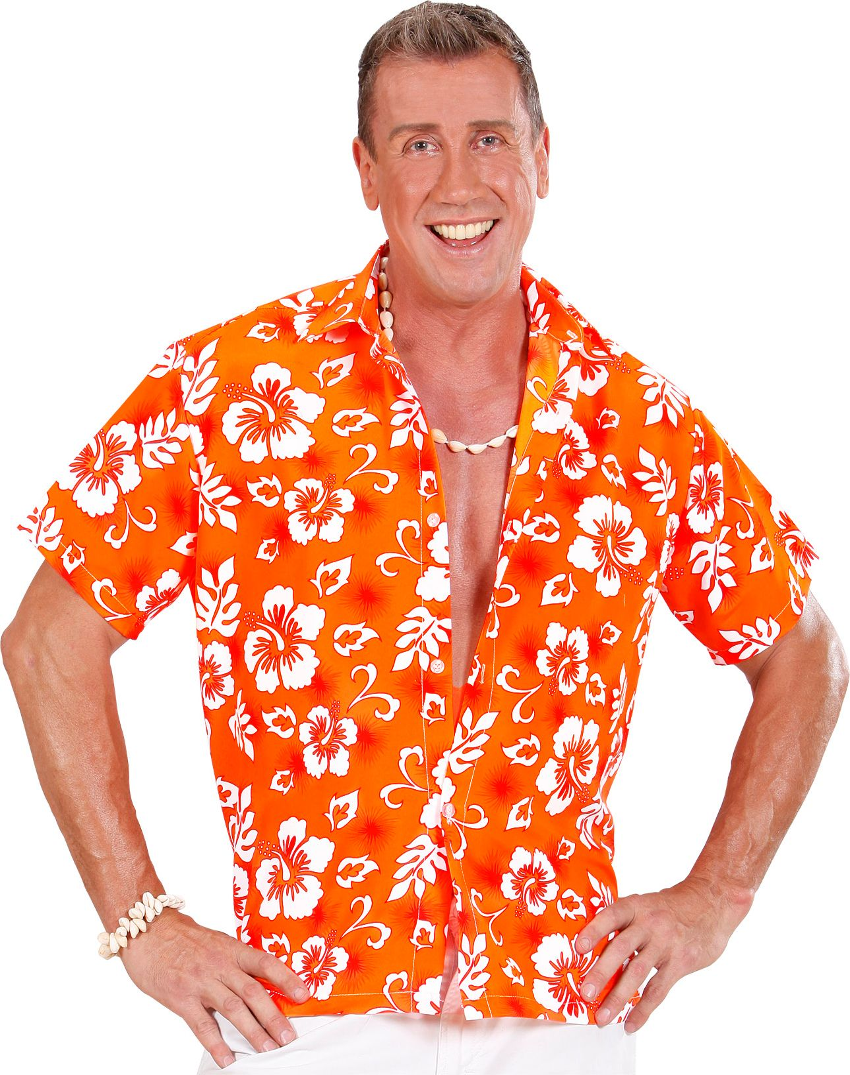 3e285645ebe Gekleurde Hawaii blouse man | Carnavalskleding.nl