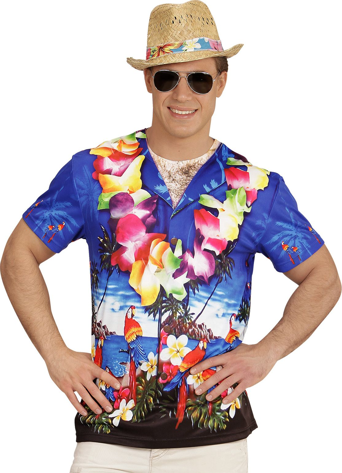 Hawaii blouse t-shirt