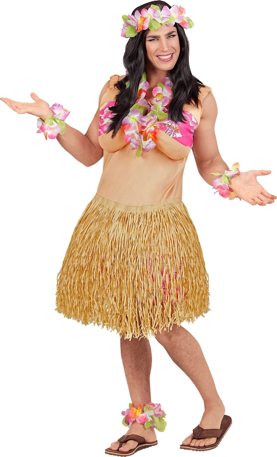 Hawaii outfit One-size-volwassenen