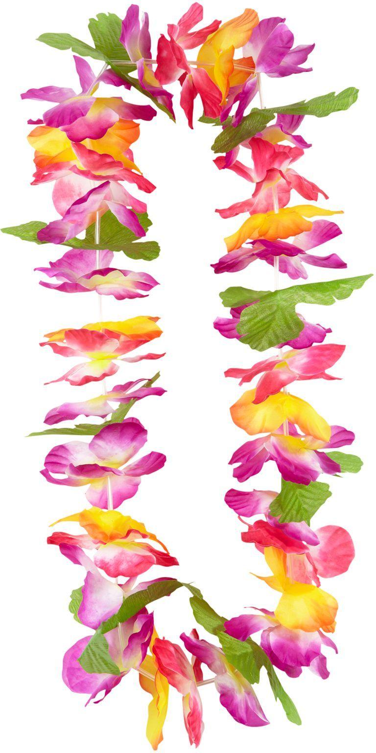 Hawaiiaanse bloemen krans