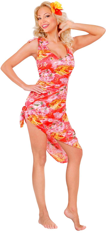 Hawaiiaanse jurk kostuum