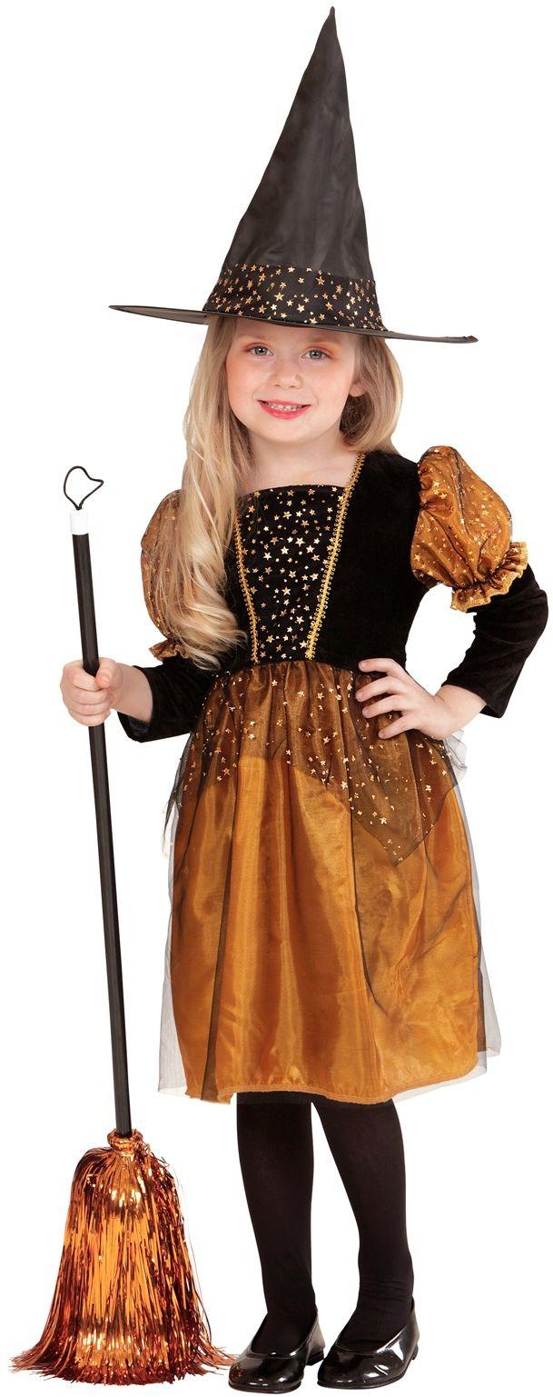 Heks Halloween jurkje meisje