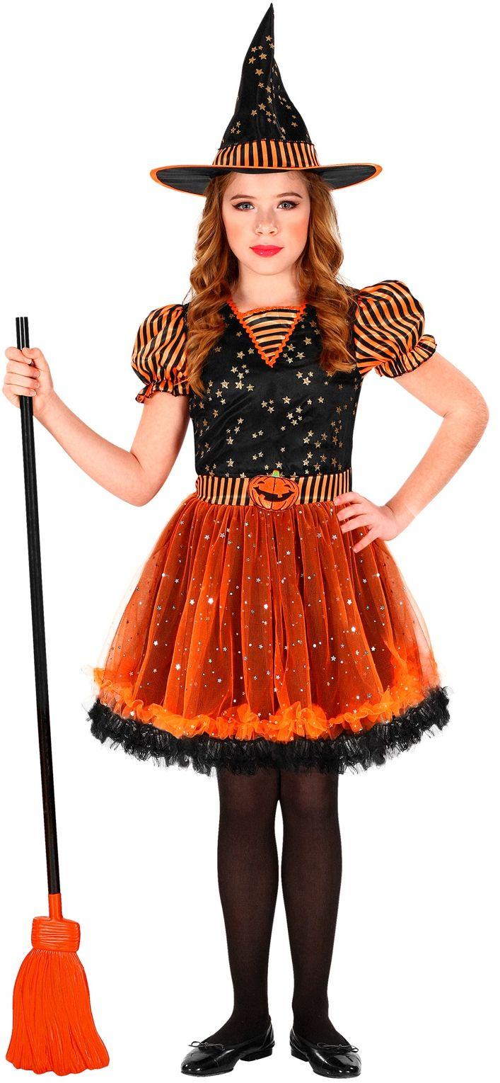 Heks verkleed jurk