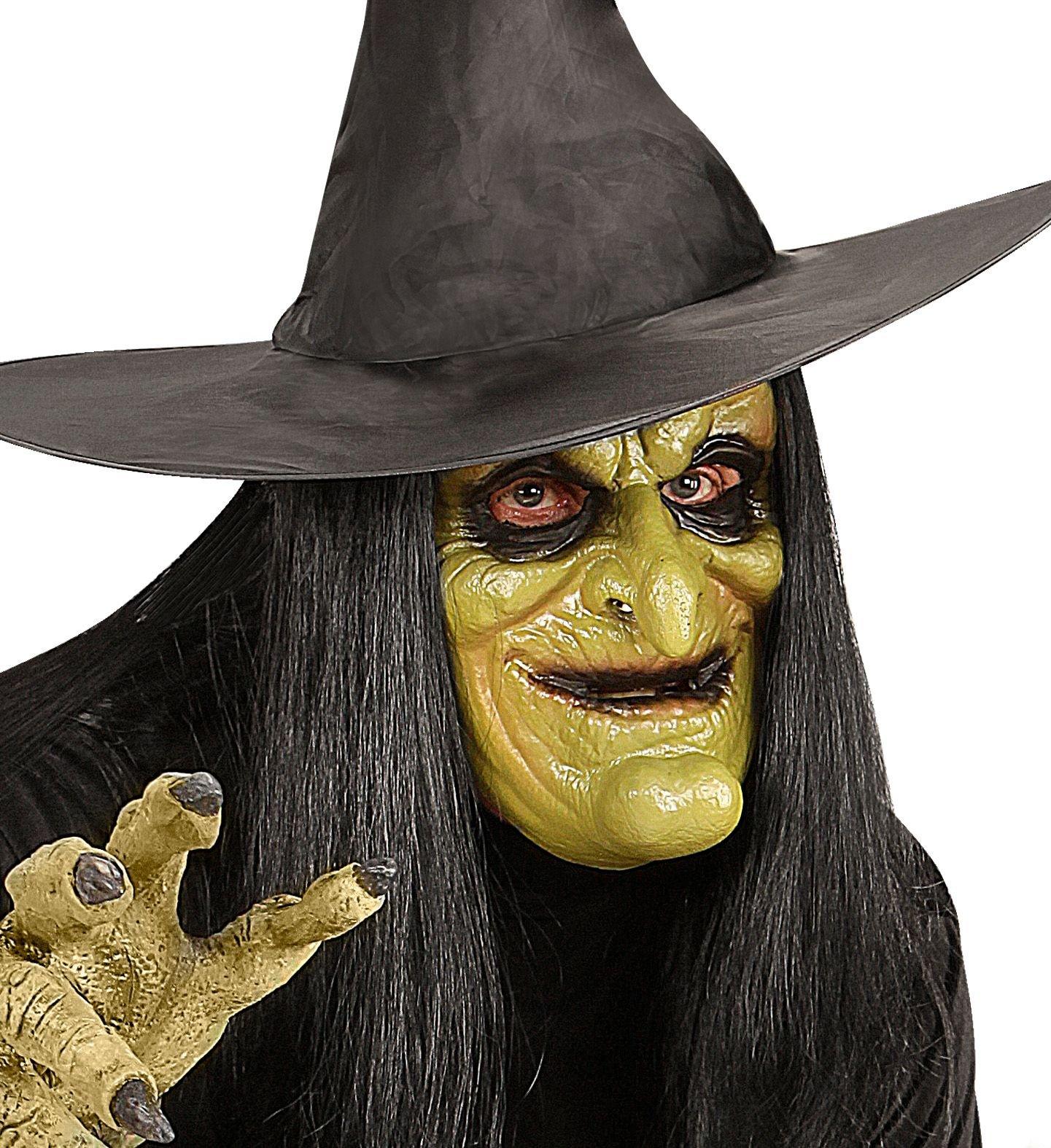 Heksen masker met haar kind