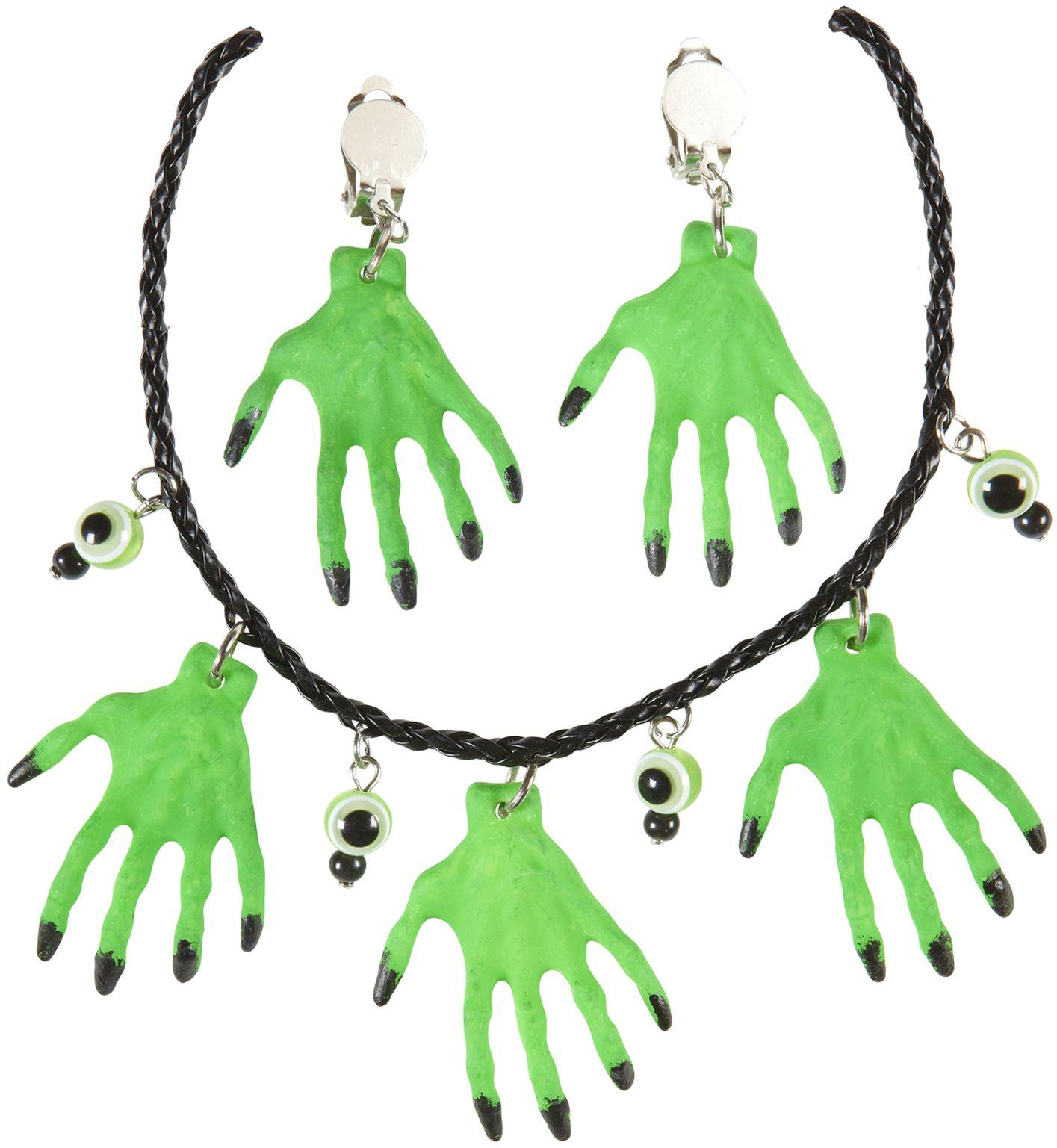 Heksenhanden sieraden set