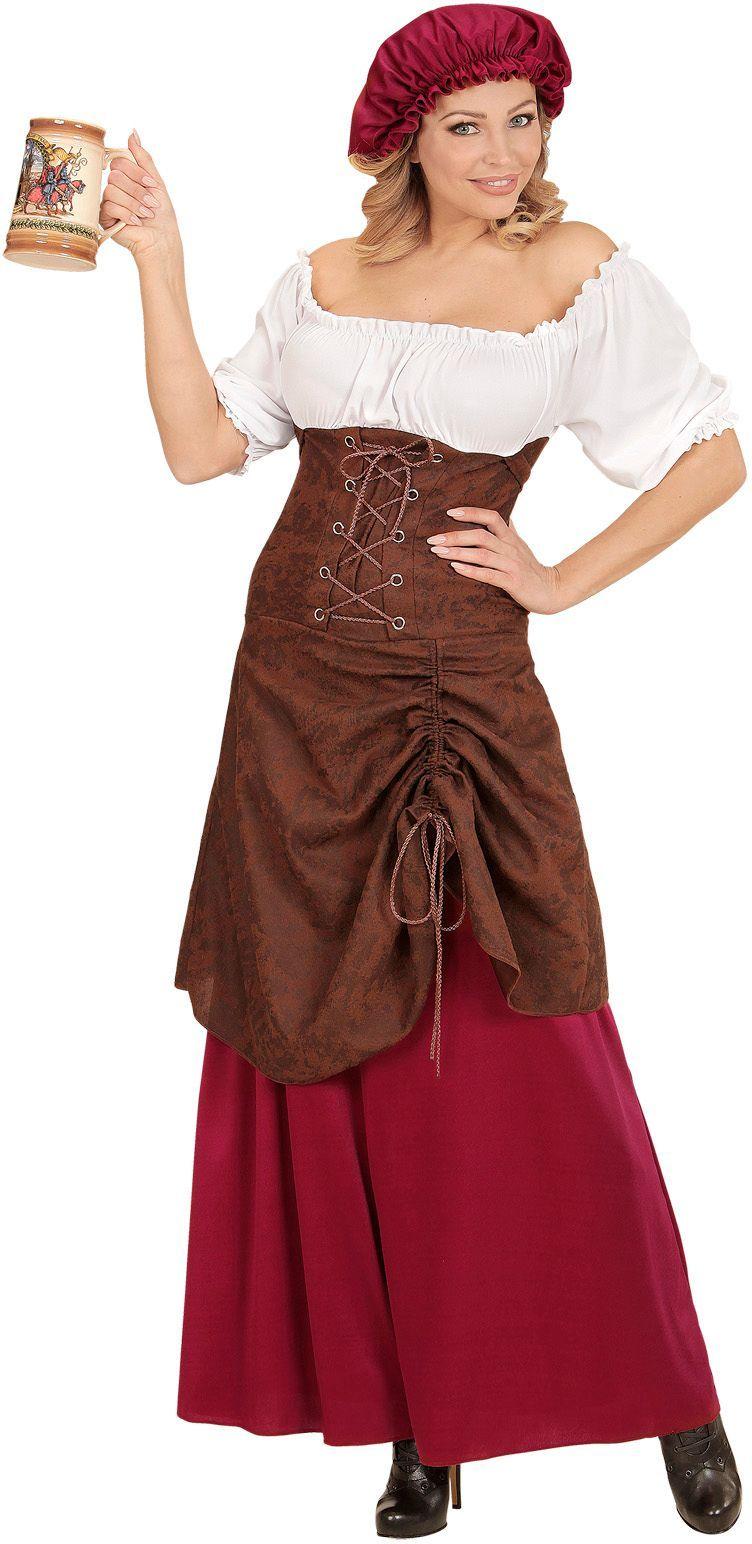 Herberg meisje jurk