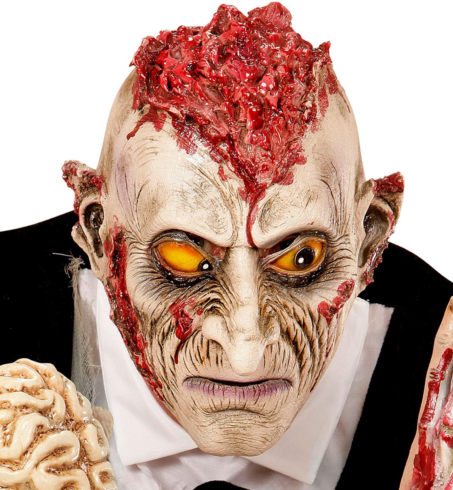 Hersens zombie masker