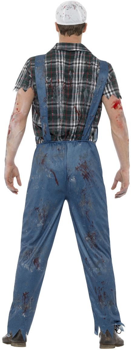 Hillbilly zombie outfit heren