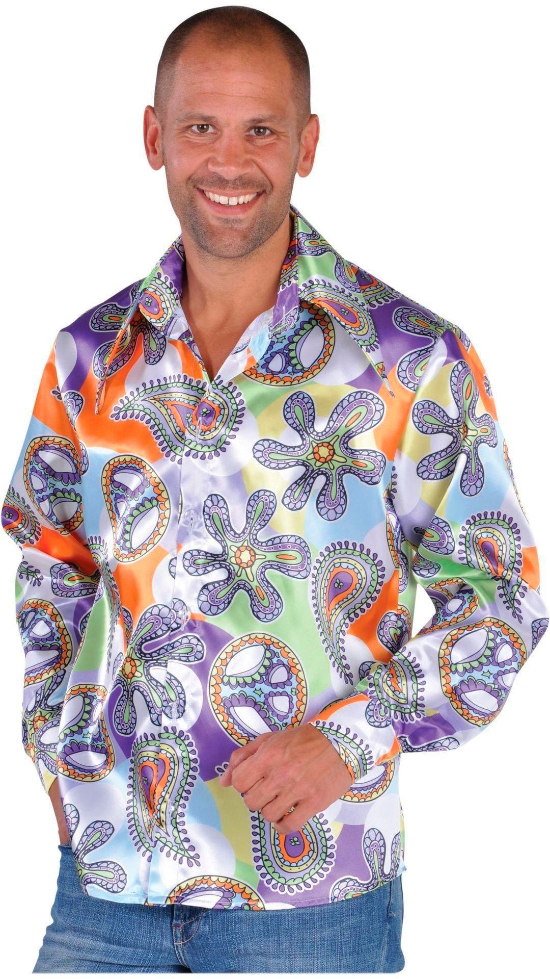 Hippie blouse carnaval heren