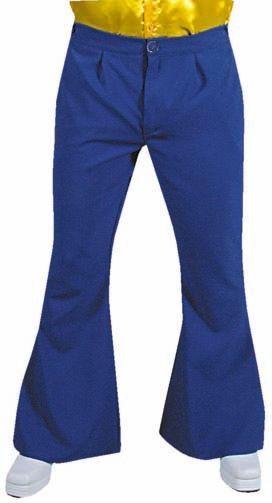 Hippie broek blauw