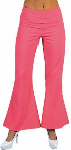 Hippie broek roze vrouwen