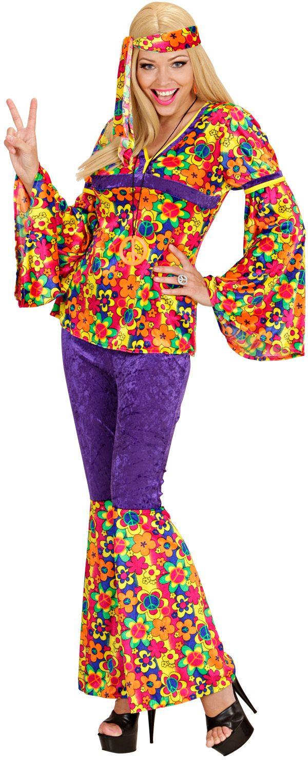 Hippie Dame kostuum