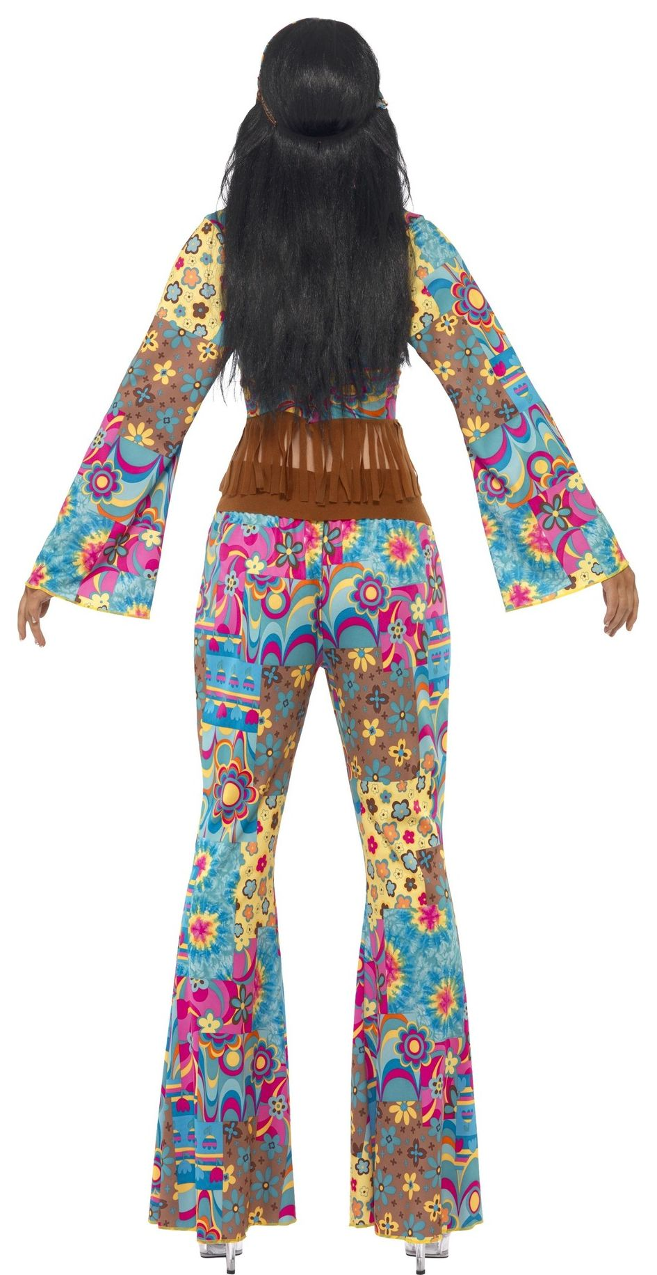Hippie Flower Power outfit