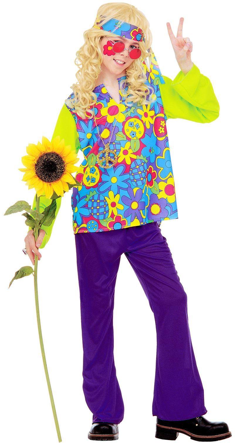 Hippie jongen kostuum