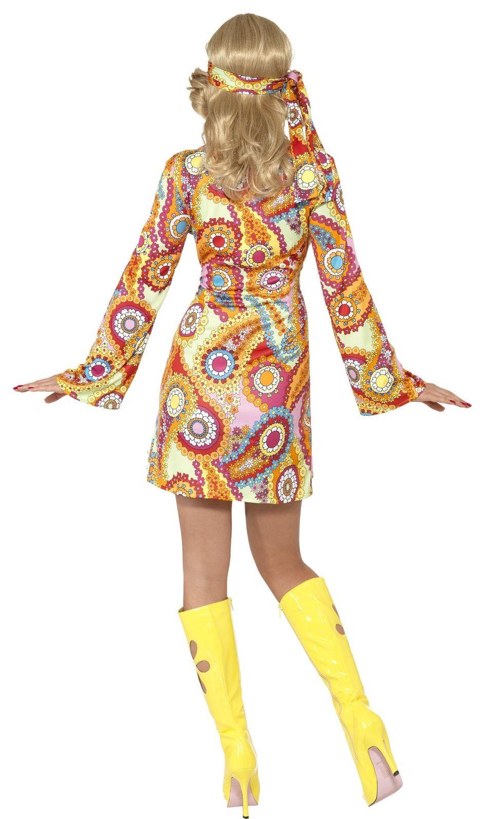 Hippie jurkje dames
